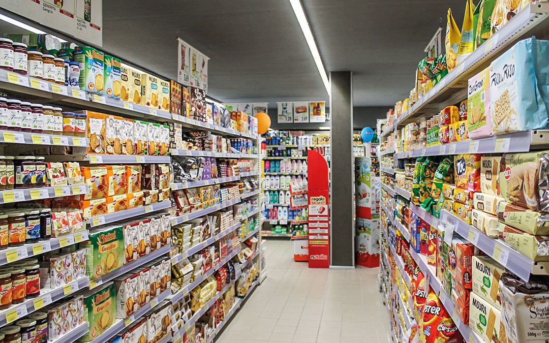 SIDAC Shopfitting Reference Installation – Food sector