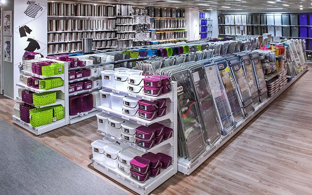 SIDAC Shopfitting Reference Installation – Homeware Store