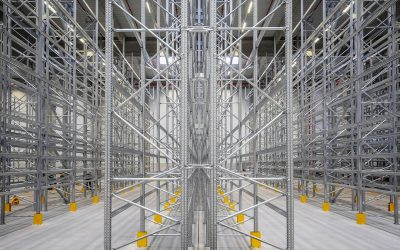 Super 6 Pallet Racking Installation