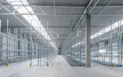 Pallet Racking and Three Tier Reference Installation
