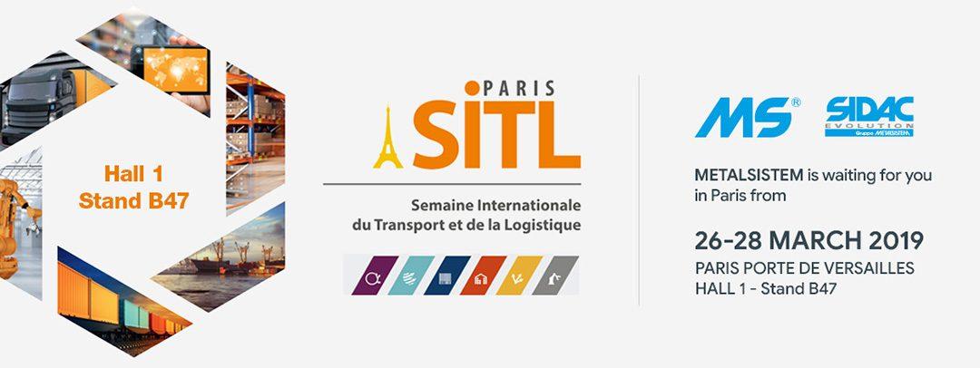 Innovazione nell'ambito della logistica – METALSISTEM al SITL di Parigi