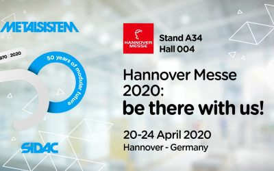 Hannover Messe 2020: be there with us!