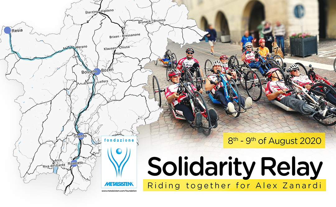 Solidarity Paracycling Relay – Riding together for Alex Zanardi