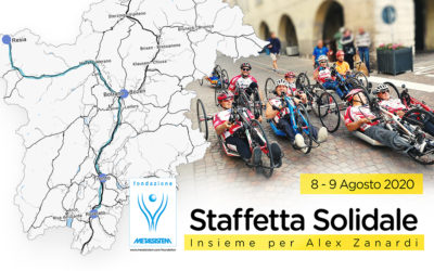 Staffetta Ciclistica Solidale – Insieme per Alex Zanardi
