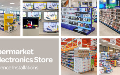 SIDAC Reference Istallation: Supermarket & Electronics Stores